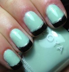 Nails by an OPI Addict: Neely French Tips!