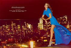 Eniko Mihalik for ShopBop Spring 2012 Campaign by Guy Aroch