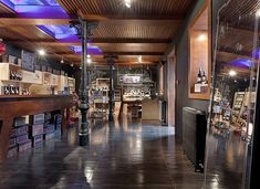 Stefano's Fine Food Factory (Store) by YOD Design Lab , via Behance  I love  everything about this, but the lightss.....