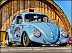Perfect Stance for this Old Speed Beetle ! Shot @ DDD9 - Bitburg