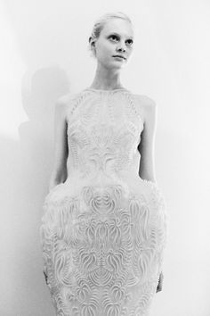 Steffie Soede at Iris van Herpen Fall Couture '13 by Lea Colombo