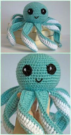 Amigurumi Octopus Free Pattern - Crochet Sea Animals Free Patterns