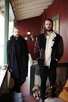 Sjur Østlien Lien & Filip Aurebekk, Rodeløkka Oslo Oslo, Faces, Hipster, Normcore, People, Style, Fashion, Swag, Moda