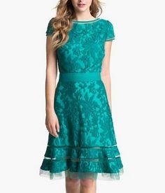 vintage wedding dresses in green | 2013 NEW SUMMER GREEN LACE KNEE LENGTH O NECK VINTAGE FASHION WEDDING ...