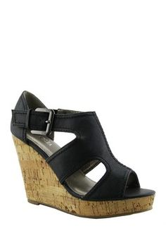 Caiden Chop Out Wedge Sandal