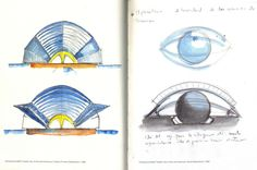 [A3N] :Original sketches done by Santiago Calatrava