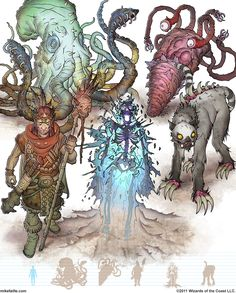 7th edition gamma world - Google Search