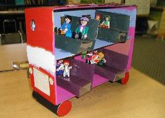 shoebox diorama book - Yahoo Image Search Results