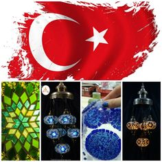 Turkish glass mosaic lamp history | Turkish Mosaic Lamp, Mosaic Lamp, Handmade glass blown, Moroccan Style Lamp, Ottoman desk Lamp,