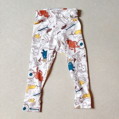 Baby Leggings Tutorial + Sewing Pattern