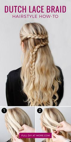 Hair Style Inspiration :   Illustration   Description   Arguably easier than a French braid.    -Read More –   - #HairStyle https://adlmag.net/2017/09/29/hair-style-inspiration-arguably-easier-than-a-french-braid/