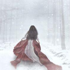 Snow White in White Snow!