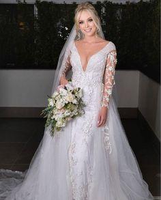 Vestido de noiva de Tata Estaniecky. Noivas. Casamentos