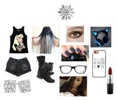 """""""Untitled #347"""" by kikilee01 on Polyvore featuring Ray-Ban, Disney, Casetify and MAC Cosmetics"""