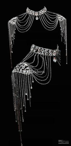 Image result for shoulder necklace bridal