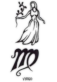 Image Result For Virgo Tribal Tattoo
