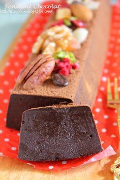 バレンタインに☆温でも冷でもおいしいなめらかチョコケーキ - ぱおのおうちで世界ごはん☆