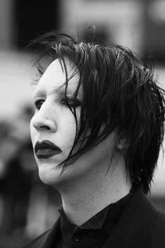 Another of my great loves, Mr. Marilyn Manson ...Yummy :D