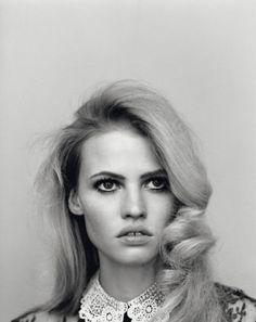 Model: Lara Stone | Photographer: Alasdair McLellan for Self Service SS 2011