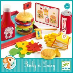 Ricky & Daisy - Djeco Takeaway Restaurant Meal! - Little Citizens Boutique  - 2