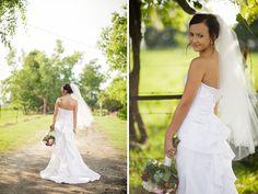 A Farm Bridal Session