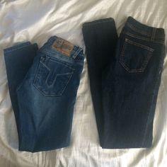 ⚡️SALE TODAY only! Denim bundle Vigoss Studio Capri size 0 (stretchy). So stretchy skinny size 1 Vigoss Jeans