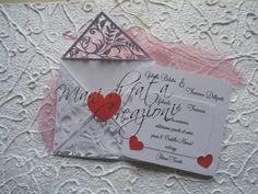 Partecipazione taglio laser - Wedding laser cut invite