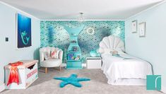 "Thanks for the kind words! Exactly what I needed for my 4 year old daughter's mermaid bedroom!"" Thanks for the kind words! Exactly what I needed for my 4 year old daughter's mermaid bedroom!"