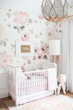Jolie Wallpaper – The Project Nursery Shop – 4 - Babyzimmer Deko & Ideen & DIY Nursery Wall Decor, Nursery Design, Baby Room Decor, Bedroom Decor, Wall Paper Nursery, Design Bedroom, Nursery Room Ideas, Lego Bedroom, Nursery Rugs