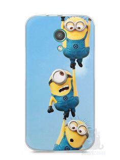Capa Moto G2 Minions #2 - SmartCases - Acessórios para celulares e tablets :)