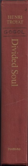The spine of David Markson's copy of Divided Soul: The Life of Gogol by Henri Troyat: On which Markson wrote Gogol's name between two horizontal lines.  [David Markson wrote everywhere in his books—even on the spines]  (readingmarksonreading)  SOURCE: readingmarksonreading Additional source: Mythology of Blue http://mythologyofblue.tumblr.com/