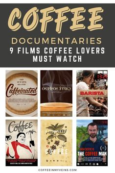 Do you need so much coffee that your TV has to have coffee on it too? Check out these coffee documentaries. A Film About Coffee, Best Coffee In Paris, 9 Film, Coffee Games, Social Aspects, Be With You Movie, Best Documentaries, How To Make Coffee, Instant Coffee