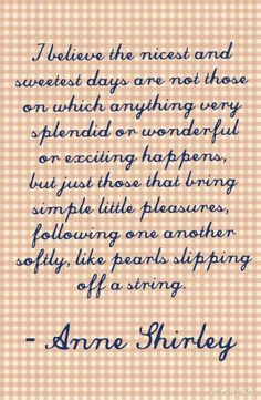 Anne Shirley, Anne of Green Gables, Quotes, LM Montgomery                                                                                                                                                      More