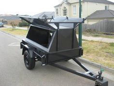 Trailers For Sale Melbourne Camping Trailers, Trailers For Sale, Super Trailer, Covered Trailers, Adventure Trailers, Vehicle Accessories, Bike Trailer, Flat Bed, Diy Camping