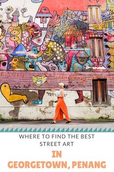 Where to find some of the coolest street art in Georgetown, Penang! #streetart #penang #georgetown #malaysia #solotravel #asia