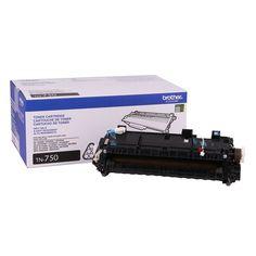 Brother Genuine TN750 High Yield Toner Cartridge + Fuser Fixing Unit