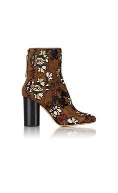 Isabel Marant Guya Ankle Boots Olive/Multi - Isabel Marant #christmasgift #christmas #christmasdeals