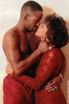 Whitney Houston & Bobby Brown ***Love this picture of Bobby & Whitney