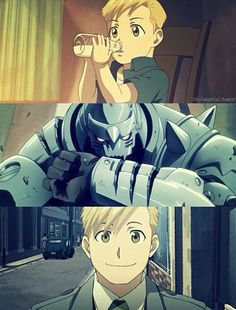 Alphonse Elric, one of my favorite anime characters ever.