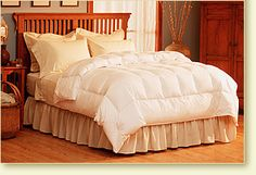 Light Warmth Down Comforter - Pacific Coast Feather Company