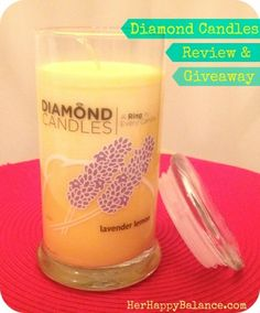Diamond Candles Review & GIVEAWAY!