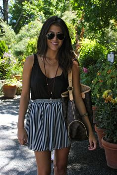 Casual & cute summer style.