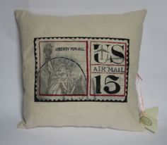 vintage pillow by Versalka:  https://www.facebook.com/versalkaa