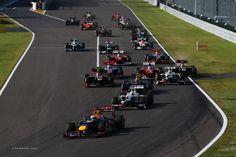 Start, GP F1 Suzuka, 2012