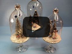 Recycled Soda Bottles Christmas Dome ~ Miriam Joy. See this tutorial here