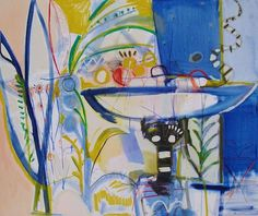Sally King Benedict at Hidell Brooks Gallery | The English Room