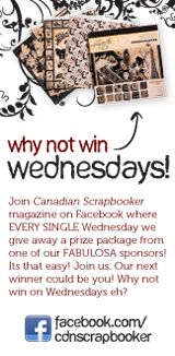 Canadian Scrapbooker Backstage Pass by Jackie Ludlage