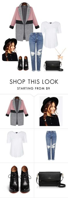 """""""Untitled #339"""" by fashionlifestyle30 ❤ liked on Polyvore featuring ASOS, Topshop, Givenchy, Kate Spade, Louche, women's clothing, women's fashion, women, female and woman"""