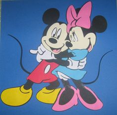 Mickey Mouse and Minnie Mouse Party by ThePaperdollPrincess