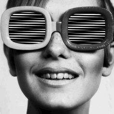 Twiggy's Op Art sunglasses